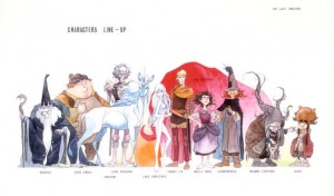 A single, long lost set of The Last Unicorn concept art has been discovered in storage and is being auctioned this week on eBay